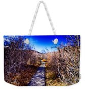 Mountain Creek Path-sundance Utah Weekender Tote Bag