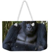 Mountain Gorilla Silverback Weekender Tote Bag