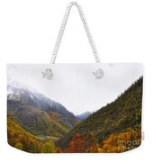 Mountain In Autumn Weekender Tote Bag