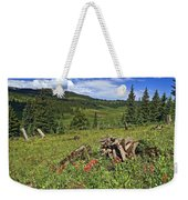 Mountain Meadow  Weekender Tote Bag