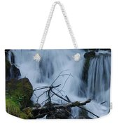 Mountain Waterfall Weekender Tote Bag