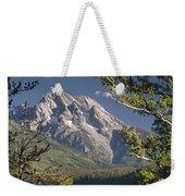 Mt. Moran And Jenny Lake Weekender Tote Bag