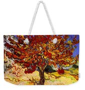 Mulberry Tree Weekender Tote Bag