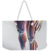 Muscles Of The Lower Body Weekender Tote Bag