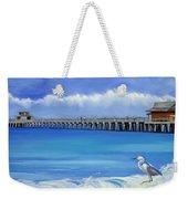 Naples Pier Naples Florida Weekender Tote Bag