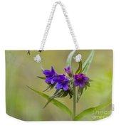 Purple Gromwell Weekender Tote Bag