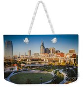 Nashville Morning Weekender Tote Bag