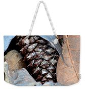 Natural Abstract 47 Weekender Tote Bag