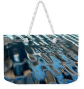 Natural Water Abstract Weekender Tote Bag