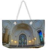 Naval Academy Chapel Side Portal Weekender Tote Bag