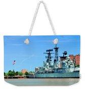 Naval Park And Museum Weekender Tote Bag