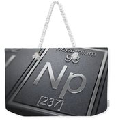 Neptunium Chemical Element Weekender Tote Bag