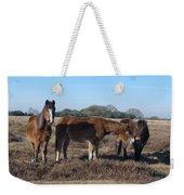 New Forest Ponies Weekender Tote Bag