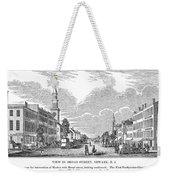 New Jersey Newark, 1844 Weekender Tote Bag