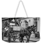 New Orleans - Carriage Ride Bw Weekender Tote Bag