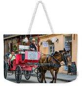 New Orleans - Carriage Ride Weekender Tote Bag