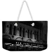 New York City Center Weekender Tote Bag