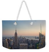 New York City - Empire State Building Weekender Tote Bag