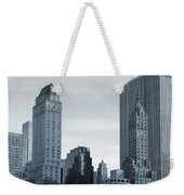 New York City From Central Park Weekender Tote Bag