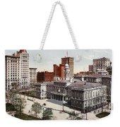 New York City Hall 1900 Weekender Tote Bag