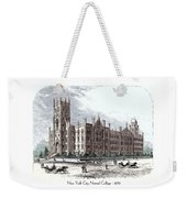 New York City Normal College - 1870 Weekender Tote Bag