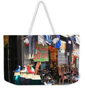 New York City Storefront 8 Weekender Tote Bag