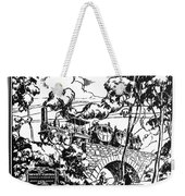 New York Locomotive, 1831 Weekender Tote Bag