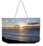Newport Oregon Sunset Weekender Tote Bag