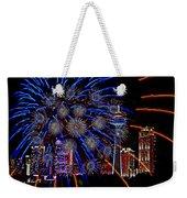 Niagara Fireworks Weekender Tote Bag