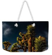 Night Desert Weekender Tote Bag