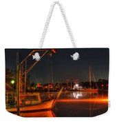 Night In The Harbor Weekender Tote Bag