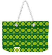 No120 My Green Lantern Minimal Movie Poster Weekender Tote Bag