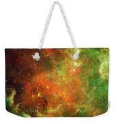 North America Nebula Weekender Tote Bag