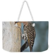 Northern Flicker Weekender Tote Bag