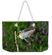 Northern Parula Warbler Weekender Tote Bag