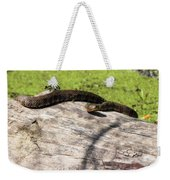 Northern Water Snake Weekender Tote Bag
