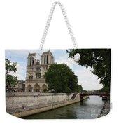 Notre Dame Along The Seine Weekender Tote Bag