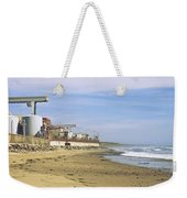 Nuclear Power Plant On The Beach, San Weekender Tote Bag