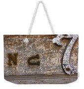Number Seven  Weekender Tote Bag