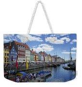 Nyhavn - Copenhagen Denmark Weekender Tote Bag