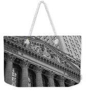Nyse  New York Stock Exchange Wall Street Weekender Tote Bag