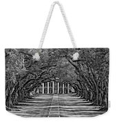 Oak Alley Bw Weekender Tote Bag