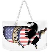 Obama-2 Weekender Tote Bag