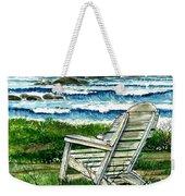 Ocean Chair Weekender Tote Bag