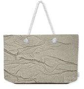 Ocean Sand Art Hearts Left Side Weekender Tote Bag