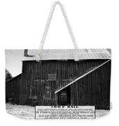 Odd Fellows Historical Building Weekender Tote Bag