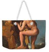 Oedipus And The Sphinx Weekender Tote Bag