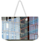 Office Building Windows Weekender Tote Bag