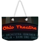 Ohio Theater Marquee Theater Sign Weekender Tote Bag