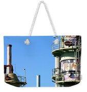 Oil Refinery Weekender Tote Bag